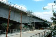 Francilienne - N104Doublement du pont sur la Seine à Corbeil-EssonnesEquipage mobile pour le clavage de la travée centrale