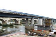 Tours - Viaduc de Saint-Cosme et les ponts de Saint-Cosme