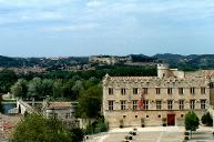 Fort Saint-André seen from the Pope's Palace in Avignon.
