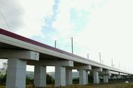 LGV Est-Europénne - Pont-rail de Vandières et viaduc du canal de la Moselle