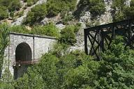 Railroad Line Quillan-Rivesaltes – Aude Viaduct & Bourrec Tunnel