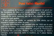 Pont Saint-Martial, Limoges.