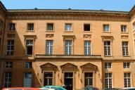 Metz - Palais de Justice (ancien Hôtel du Gouverneur) - Façade sur cour