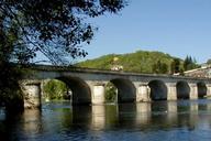 Pont de Louis Vicat à Souillac.Vue d'amont.