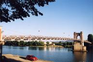 Hängebrücke Trévoux