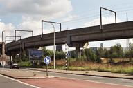 Charleroi Light Rail - viaduct along the N90 at the entrance to Monceau-sur-Sambre