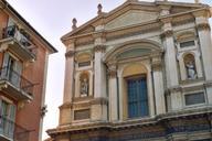 La cathédrale Sainte-Reparate, dans la vieille ville de Nice (Alpes-Maritimes).