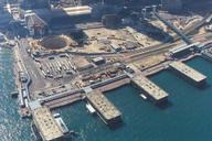 Hong Kong International Finance Centre North EastBSG - Northern Basement Shaft from Air (distant).