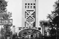 Tower Bridge, Sacramento.(HAER, CAL,34-SAC,58-10)