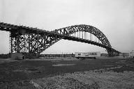Bayonne Bridge.General view looking southeast.  (HAER, NJ,9-BAYO,1-2)