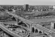 Washington Bridge (181st Street), New York.(HAER, NY,31-NEYO,162-1)