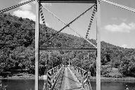 Lackawaxen Suspension Bridge.(HAER, PA,52-LACK,1-55)