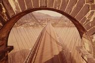 Wheeling Suspension Bridge, Spanning East channel of Ohio River at U.S. Route, Wheeling, Ohio County, WV(HAER, WVA,35-WHEEL,35-57)