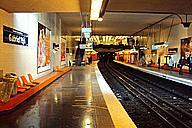 Metrobahnhof Gabriel Péri