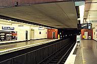 Metrobahnhof Mairie de Clichy