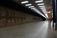Metrobahnhof Roztyly