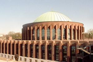 Cable-stayed bridges with harp system