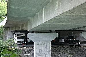 Single T-section girder bridges