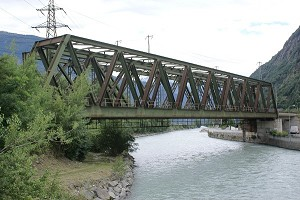 Ponts en poutre en treillis Warren simple