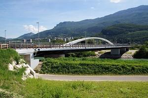 Axial (single) tied-arch bridges