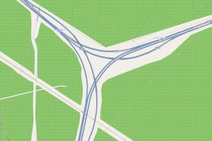 Autobahndreiecke in Y-Form