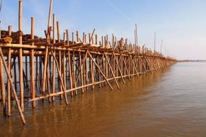 Bambusbrücken