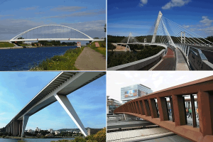 Longitudinal bridge systems