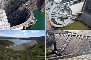Dams by structure