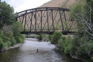 Ponts en poutre en treillis type Pegram
