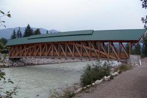 Ponts en poutre en treillis en arc type Burr