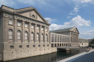 Neue Luftführung im Pergamonmuseum