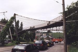 Seilnetzbrücken