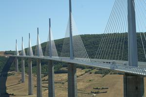 Multiple-span cable-stayed bridges
