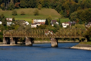 Schwedler truss bridges