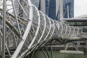 Rostfreie Stahlbrücken