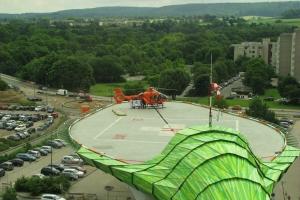 Hubschrauberlandeplätze