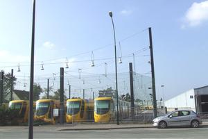 Tram depots
