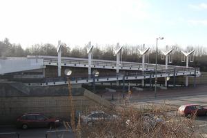 Sachsendamm Footbridge