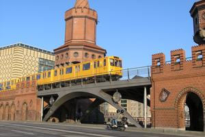 Tramway, light and metro rail bridges