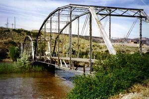 Ponts en poutre en treillis type Parker