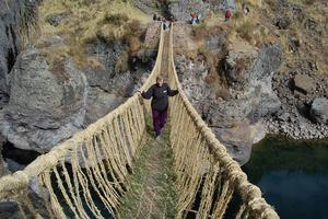 Ponts en fibres naturelles