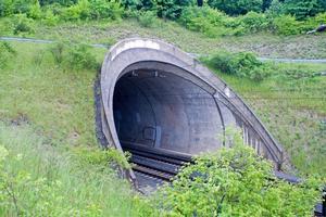 High-speed rail tunnels