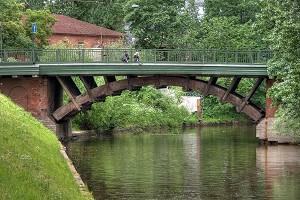 Ponts en arc avec tablier supérieur