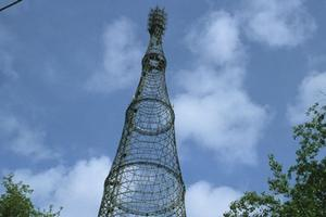 Hyperbolic steel lattice towers