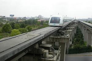 Ponts pour trains à lévitation électromagnétique