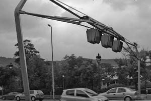 Road sign gantries