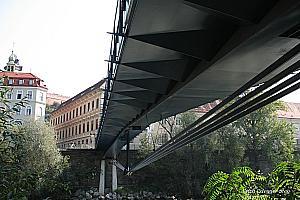 Underslung girder bridges