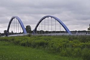 Ponts bow-string sans raccordement supérieur