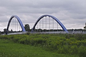 Unbraced tied-arch bridges