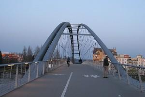 Bicycle and pedestrian bridges